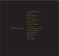 Sweet William - Kind Of Strangest Dream