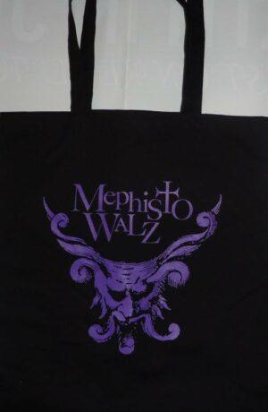 Mephisto Walz - Bag Violet Logo