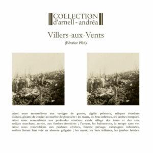 Collection D'Arnell-Andréa - Villers-aux-Vents - février 1916