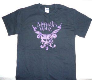 Mephisto Walz - T-Shirt Violet Logo